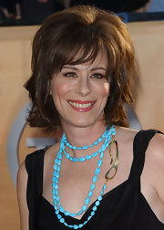 Jane Kaczmarek attended the SAG Awards wearing a short tousled 'do.