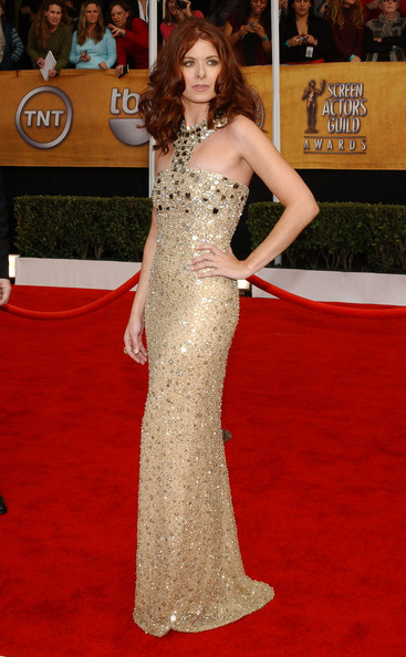 Debra Messing at the 2008 SAG Awards