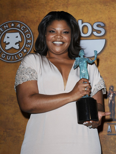 Mo'Nique in 16th Annual Screen Actors Guild Awards - Press Room
