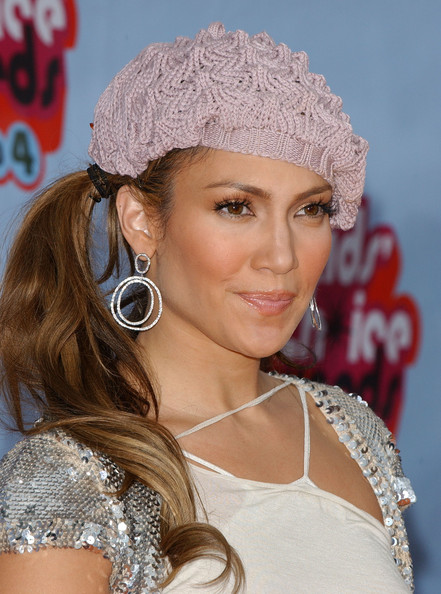 More Pics of Jennifer Lopez Crocheted Beret (1 of 18) - Jennifer Lopez Lookbook - StyleBistro