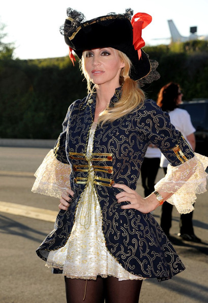 More Pics of Camille Grammer Knee High Boots (1 of 14) - Camille Grammer Lookbook - StyleBistro
