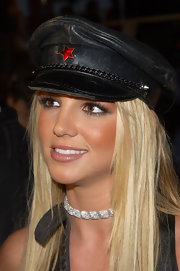 Britney showed off a leather captains hat at the VMAs.