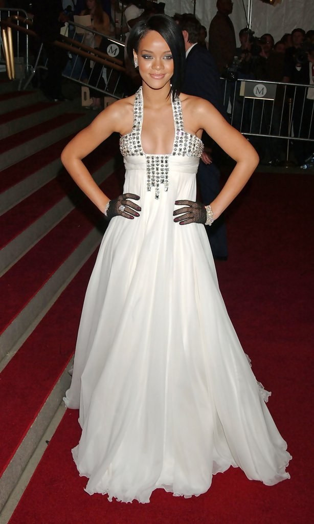 Rihanna in The 2007 Costume Institute Gala