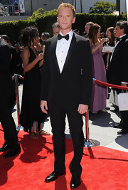 Neil Patrick Harris donned a perfectly tailored tuxedo, complete with a charming bow tie.