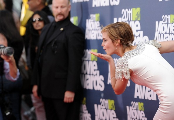 emma watson 2011 mtv awards. 2011 MTV Movie Awards.