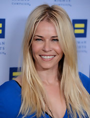 Chelsea Handler attended the 2012 Human Rights Campaign Gala wearing a sheer nude lipgloss.