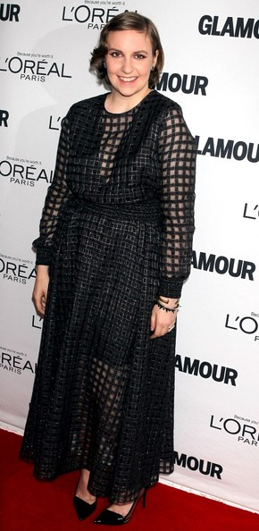 More Pics of Lena Dunham Evening Dress (1 of 1) - Lena Dunham Lookbook - StyleBistro