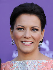 Martina McBride attended the 47th Annual Academy of Country Music Awards wearing a pair of gorgeous blue crystal Hyacinth earrings.