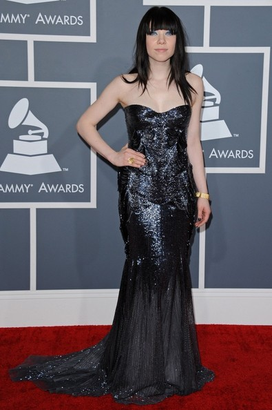 More Pics of Carly Rae Jepsen Mermaid Gown (6 of 14) - Carly Rae Jepsen Lookbook - StyleBistro