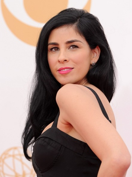 More Pics of Sarah Silverman Pink Lipstick (1 of 3) - Beauty Lookbook - StyleBistro