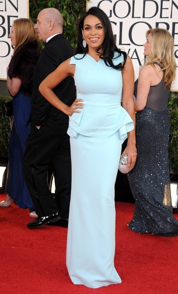 More Pics of Rosario Dawson Evening Dress (5 of 6) - Rosario Dawson Lookbook - StyleBistro