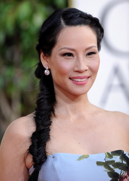 More Pics of Lucy Liu Evening Dress (1 of 9) - Evening Dress Lookbook - StyleBistro