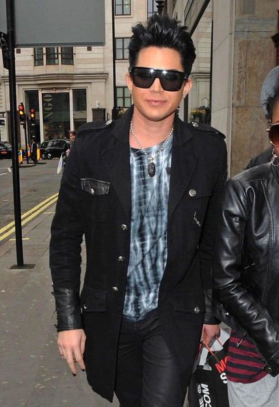 Adam Lambert Oversized Sunglasses