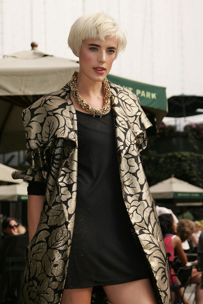 Agyness Deyn Gold Chain