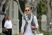 Alessandra Ambrosio Canvas Shoes