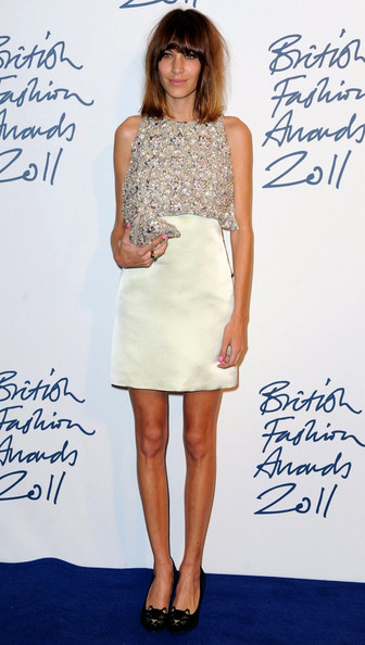 Alexa Chung Beaded Dress