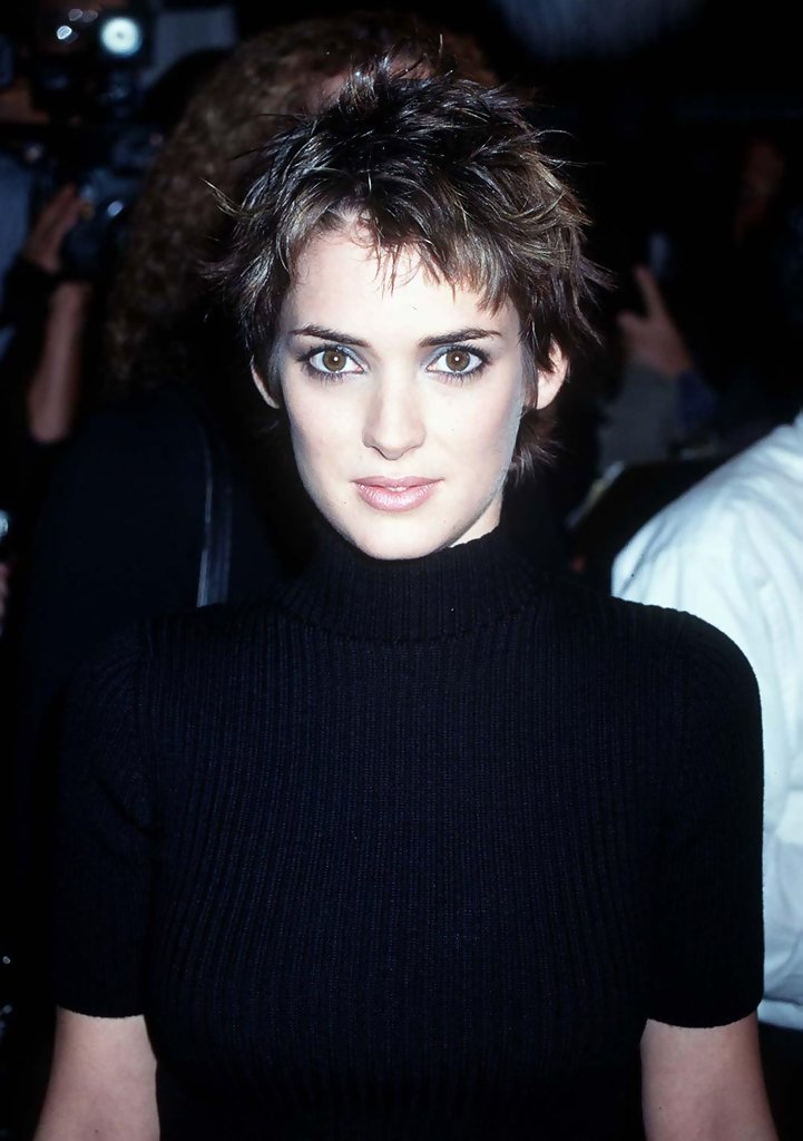 Winona Ryder The Cutest Celebrity Pixie Haircuts