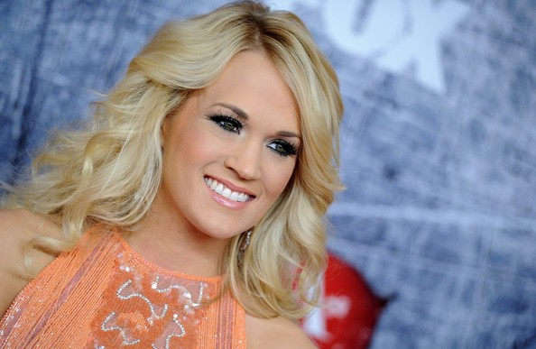 More Pics of Carrie Underwood Beaded Dress (1 of 8) - Dresses & Skirts Lookbook - StyleBistro