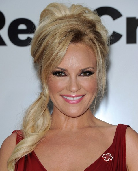 More Pics of Bridget Marquardt Ponytail (2 of 8) - Bridget Marquardt Lookbook - StyleBistro