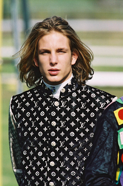 Andrea Casiraghi Hair