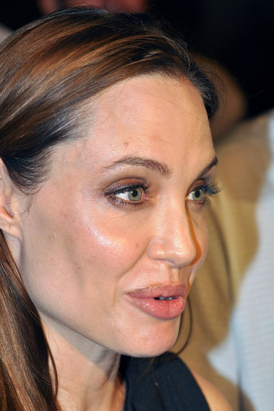 Angelina Jolie Body Art