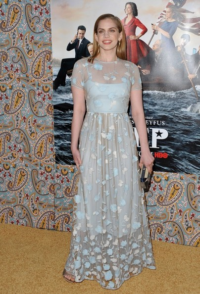 Anna Chlumsky Evening Dress