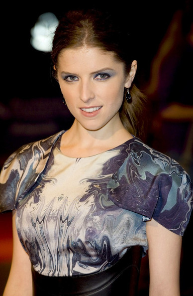 Anna Kendrick Bright Eyeshadow