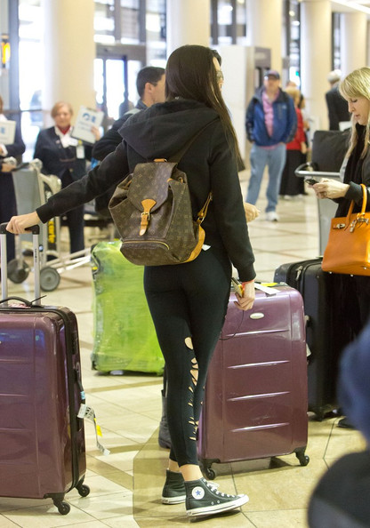 More Pics of Kendall Jenner Designer Backpack  (1 of 14) - Kendall Jenner Lookbook - StyleBistro