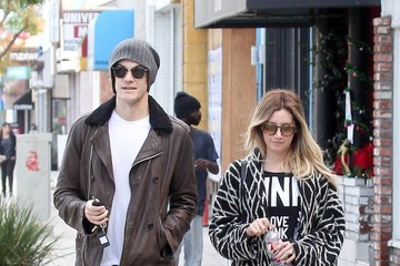 Ashley Tisdale Christopher French Christopher French and Ashley Tisdale Out and About