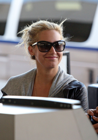 Ashley Tisdale Oversized Sunglasses