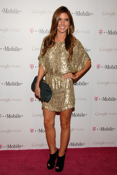 Audrina Patridge Beaded Dress
