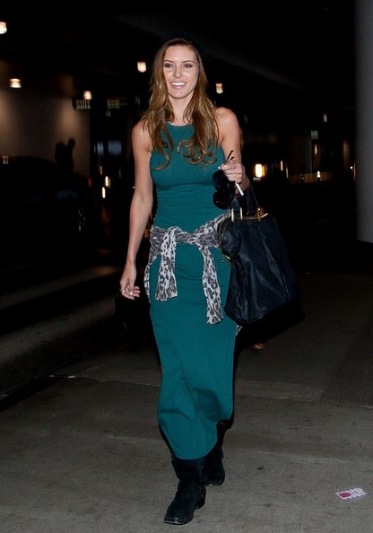 More Pics of Audrina Patridge Maxi Dress (1 of 20) - Dresses & Skirts Lookbook - StyleBistro