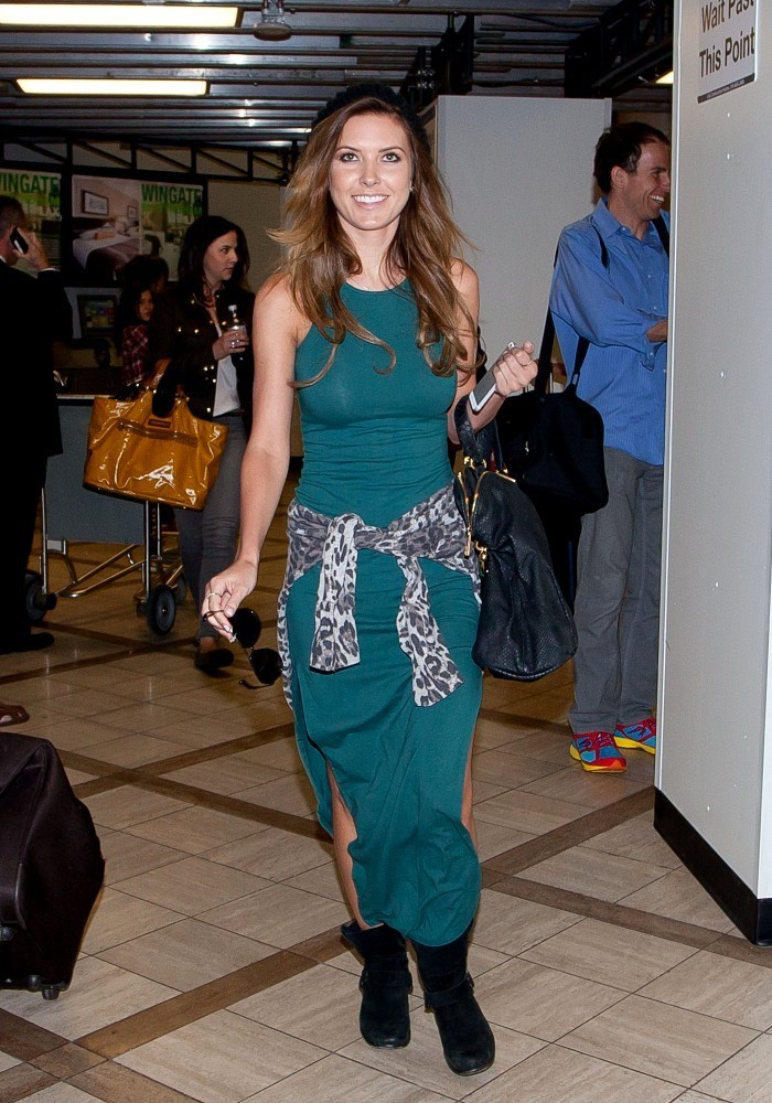 Audrina Patridge in Tight Turquoise - The Prettiest ...