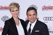Mark Ruffalo and Sunrise Coigney Photo
