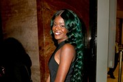 Azealia Banks Long Wavy Cut