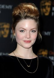 Holliday Grainger went retro with her locks at the BAFTA nominees announcement.