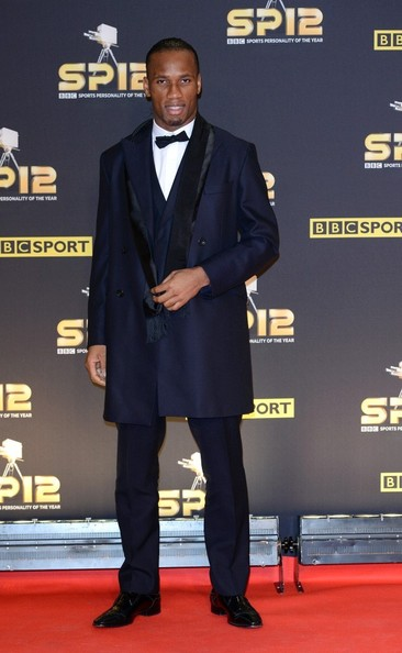 More Pics of Didier Drogba Tuxedo (1 of 2) - Didier Drogba Lookbook - StyleBistro