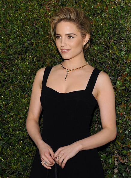 More Pics of Dianna Agron Little Black Dress (1 of 6) - Dianna Agron Lookbook - StyleBistro