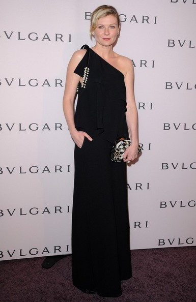 More Pics of Kirsten Dunst One Shoulder Dress (4 of 5) - One Shoulder Dress Lookbook - StyleBistro