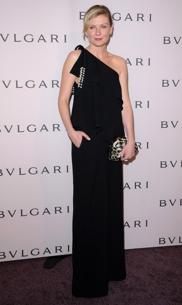More Pics of Kirsten Dunst One Shoulder Dress (2 of 5) - One Shoulder Dress Lookbook - StyleBistro