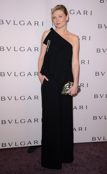 More Pics of Kirsten Dunst One Shoulder Dress (1 of 5) - One Shoulder Dress Lookbook - StyleBistro