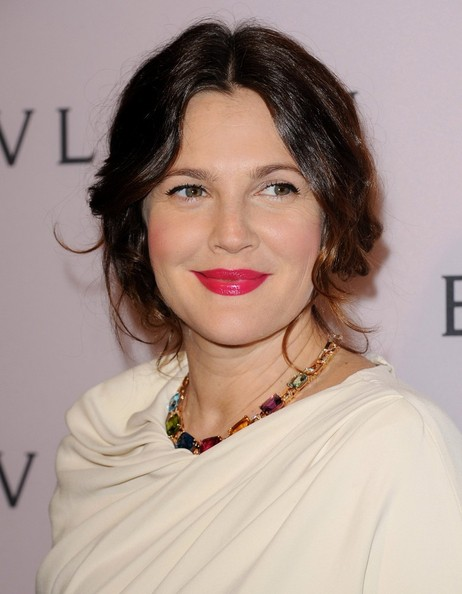 More Pics of Drew Barrymore Gemstone Collar Necklace  (1 of 19) - Drew Barrymore Lookbook - StyleBistro