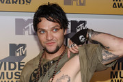 Bam Margera Flower Tattoo