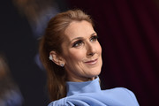 Celine Dion rocked two diamond studs in one ear at the world premiere of 'Beauty and the Beast.'