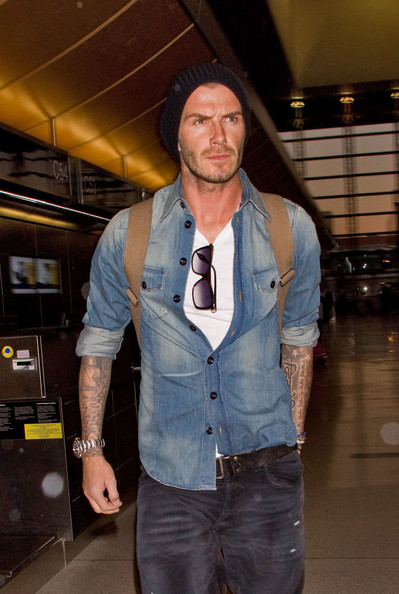 More Pics of David Beckham Leather Belt (3 of 7) - David Beckham Lookbook - StyleBistro