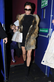 "It seems that Mrs. Beckham only owns ""Birkin"" bags. She has been spotted several times wearing every ""Birkin"" bag ever made."