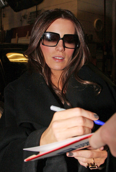 More Pics of Kate Beckinsale Square Sunglasses (1 of 1) - Square Sunglasses Lookbook - StyleBistro