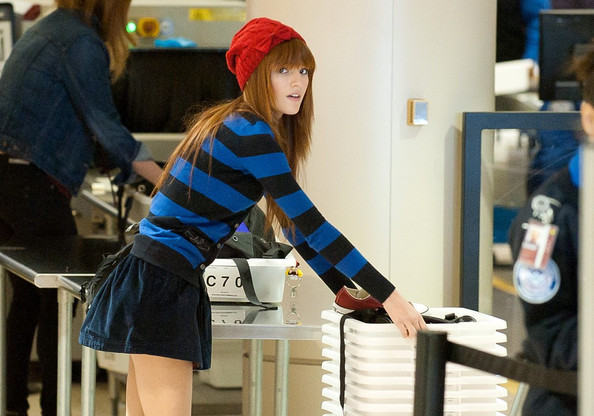 Bella Thorne Knit Beanie