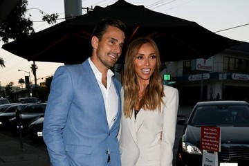 Bill Rancic Giuliana Rancic Bill and Giuliana Rancic Dine out at Craig's Restaurant