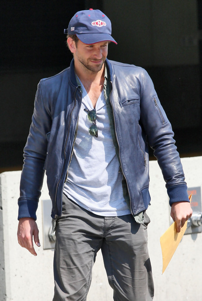 Bradley Cooper Leather Jacket Bradley Cooper Looks